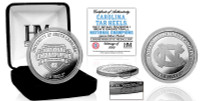 North Carolina Tar Heels 2017 NCAA National Champions Silver Coin w/Case