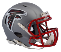 Atlanta Falcons NFL Blaze Revolution Speed Riddell Mini Football Helmet