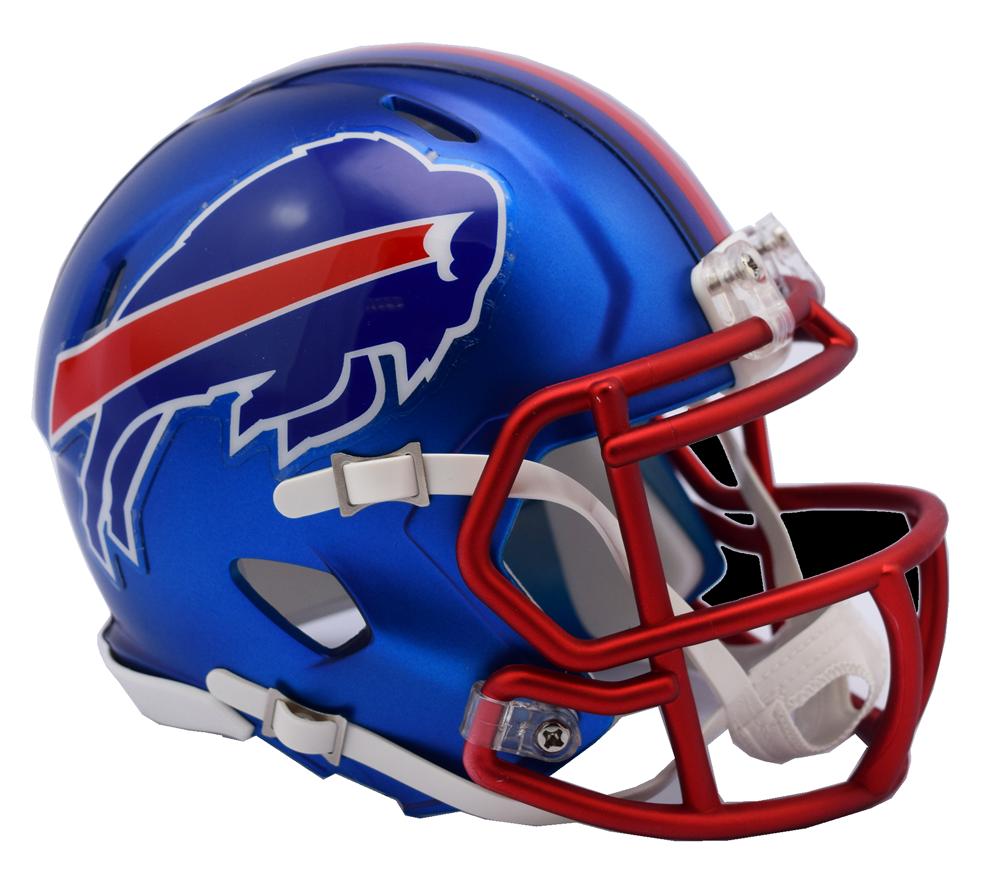 74e4d630 Buffalo Bills NFL Blaze Revolution Speed Riddell Mini Football Helmet
