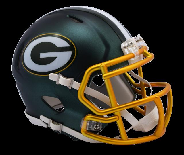 aee4ac679 ... Blaze Revolution Speed Riddell Mini Football Helmet. Image 1. Image 1