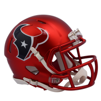 Houston Texans NFL Blaze Revolution Speed Riddell Mini Football Helmet