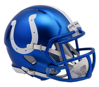 Indianapolis Colts NFL Blaze Revolution Speed Riddell Mini Football Helmet
