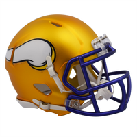 Minnesota Vikings NFL Blaze Revolution Speed Riddell Mini Football Helmet