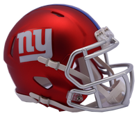 New York Giants NFL Blaze Revolution Speed Riddell Mini Football Helmet