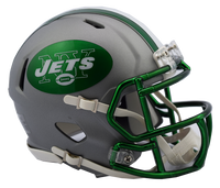 New York Jets NFL Blaze Revolution Speed Riddell Mini Football Helmet