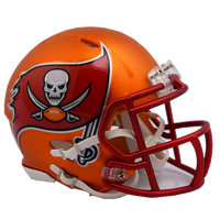 Tampa Bay Buccaneers NFL Blaze Revolution Speed Riddell Mini Football Helmet