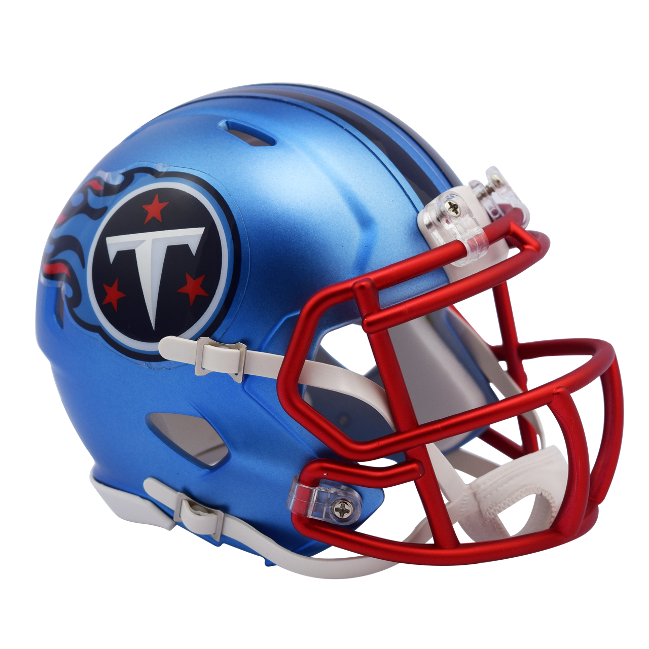 d9d9da555 ... Tennessee Titans NFL Blaze Revolution Speed Riddell Mini Football Helmet.  Image 1. Image 1