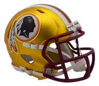 Washington Redskins NFL Blaze Revolution Speed Riddell Mini Football Helmet