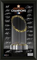 Houston Astros 2017 World Series Champions Signature Trophy LE 5000