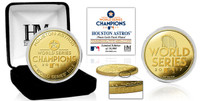 Houston Astros 2017 World Series Champions 24k Gold Coin LE 10000