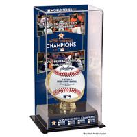 Houston Astros 2017 World Series Champions Display Case