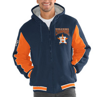 Houston Astros 2017 World Series Champions Fleece Polyfill Full-Zip Jacket - Navy