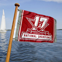 Alabama Crimson Tide 2017 Football National Championship Car/Boat Flag