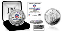 Minnesota Vikings 2017 NFC Divisional Victory Silver Coin LE 10,000