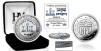 Philadelphia Eagles Super Bowl LII Champions Silver Victory Coin LE 10,000