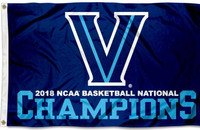 Villanova Wildcats 2018 NCAA National Champions Flag 3' x 5'