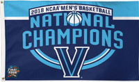 Villanova Wildcats 2018 NCAA 3-Time National Champions Flag 3' x 5'