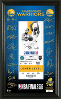 Golden State Warriors  2018 NBA Champions Signature Ticket LE 5,000