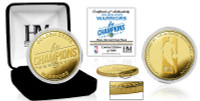 Golden State Warriors 2018 NBA Finals 6-Time Champions Gold Coin LE 5,000