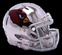 Arizona Cardinals NFL Chrome Speed Riddell Mini Football Helmet