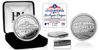 Los Angeles Dodgers 2018 NL Champions Silver Coin LE 5,000