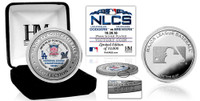 Los Angeles Dodgers 2018 NLCS Champions Silver Victory Coin LE 5,000