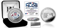 Los Angeles Dodgers 2018 NLDS Champions Silver Victory Coin LE 5,000