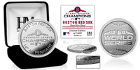 Boston Red Sox 2018 AL Champions Silver Coin LE 5,000