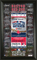 Boston Red Sox 2018 World Series Signature Ticket LE 5,000