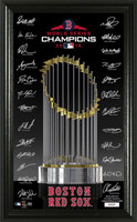Boston Red Sox 2018 World Series Champions Signature Trophy LE 10,000