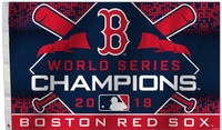 Boston Red Sox 2018 World Series Champions Flag 3'x 5'