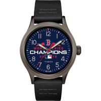 Boston Red Sox 2018 World Series Champions Leather Watch