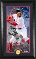 Boston Red Sox Mookie Betts Supreme Bronze Coin Photo Mint LE 2,500
