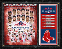 Boston Red Sox 2018 World Series Champions Composite Photo Plaque