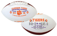 Clemson Tigers 2018 National Champions Commemorative 15-0 Perfect Season Football LE 2,018