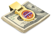 Clemson Tigers 2018 National Championship 23k Gold Money Clip