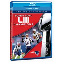 New England Patriots Super Bowl LIII Champions DVD/Blu-ray Combo