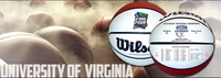 Virginia Cavaliers 2019 NCAA Men's Basketball National Champions Wilson Official Size White Panel Basketball LE 5,000
