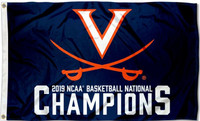 Virginia Cavaliers 2019 NCAA National Basketball Champions Flag