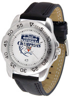 Virginia Cavaliers 2019 NCAA Men's Basketball National Champions Sport Leather Watch - White or Orange