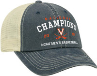 Virginia Cavaliers 2019 NCAA Men's Basketball National Champions Classic Mesh-back Hat