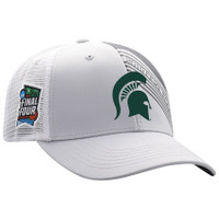 Michigan State Spartans 2019 NCAA Men's Basketball Tournament Final Four Champions Adjustable Hat - Gray