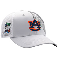 Auburn Tigers 2019 NCAA Men's Basketball Tournament Final Four Champions Adjustable Hat - Gray