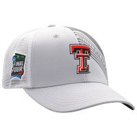 Texas Tech Red Raiders 2019 NCAA Men's Basketball Tournament Final Four Champions Adjustable Hat - Gray