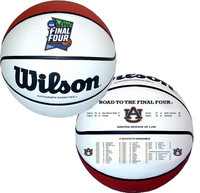 Auburn Tigers 2019 NCAA Men's Basketball Tournament Road to the Final Four Champions Leather Basketball LE 5,000