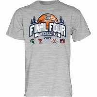 Blue 84 2019 NCAA Final Four March Madness Minneapolis Men's Basketball T-Shirt