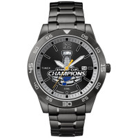 St. Louis Blues 2019 NHL Stanley Cup Champions Stainless Steele Crystal Watch
