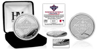 Washington Nationals 2019 World Series Champions 1oz Pure Silver Mint Coin LE 2,019