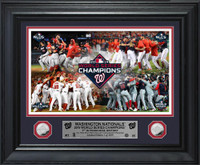 Washington Nationals 2019 World Series Champions Celebration 2pc Deluxe Silver Coin Photo Mint LE 2,019