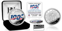 NFL 100th Anniversary Silver Mint Coin LE 10,000